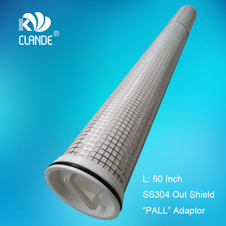 """2017 wholesale price Faucet Use Alkaline Water Filter - 60″ PP yarn wound with SS core, """"PALL"""" style adaptor – Kelandi"""